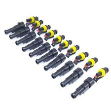 US Stock 20 Sets 1 Pin Way Sealed Waterproof Electrical Wire Connector Plug Kit
