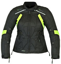 RIDEX CJ9F Ladies Women Motorbike Motorcycle Waterproof Textile Cordura Jacket