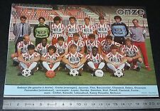 CLIPPING POSTER FOOTBALL 1985-1986 D2 AS CANNES LA BOCCA ASC