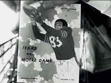 1952 Notre Dame vs Texas Football DVD with Radio Merge
