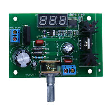 DC/AC LM317 Adjustable Voltage Regulator Step-down Power Supply Module LED Meter