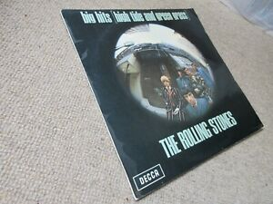 The Rolling Stones Big Hits LP **GENUINE STEREO 1st PRESS** [Ex/Ex-]