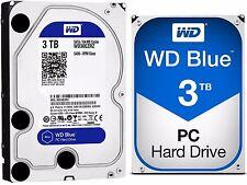Western Digital WD BLUE 3TB Desktop Hard Drive HDD SATA 3 64MB Cache WD30EZRZ