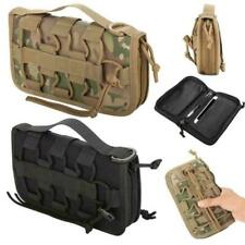 Outdoor Tactical Military Utility Wallet EDC Molle Pouch Organizer Phone Bag