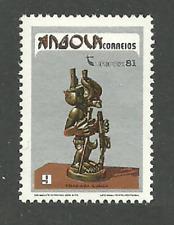 ANGOLA 1981 AFRICAN ART TURIPEX SCULPTURE SET MNH
