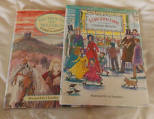 2 childrens illustrated books. A Christmas Carol. The Princess & the Goblin. HB.