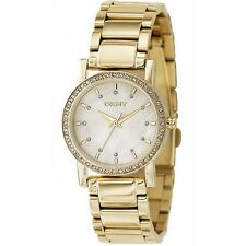 DKNY Gold tone Steel Bracelet Mother of Pearl Dial Women's Watch NY4792