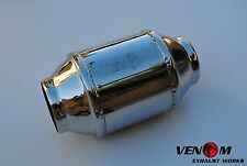 "2.25"" 200CPSI VENOM High Flow Cat Converter Honda Civic Toyota"