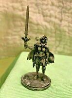 D&D MINI fig 30mm kingdom death ALLISON TWILIGHT KNIGHT REVERSAL PINUP female !