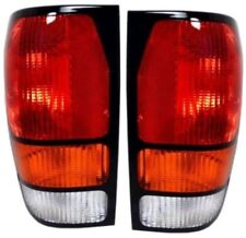 1994-2000 Mazda Pickup Pick Up Left&Right Taillight Taillamp Lamp Light Pair L+R