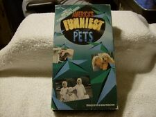 AMERICA'S FUNNIEST PETS VHS TAPE FROM AMERICA'S FUNNIEST HOME VIDEOS 1992