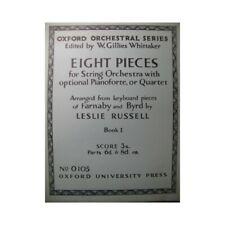BYRD William 4 Pièces pour orchestres à cordes partition sheet music score