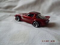 HOTWHEELS MADE IN MAYLASIA MAZDA RX-7