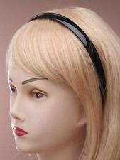 Plastik Alice Kopfband Haarzubehör HAARREIFEN SCHWARZ 1.5cm