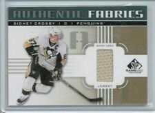 "11/12 Upper Deck SP Authentic Sidney Crosby Authentic Fabrics ""I"" Jersey"