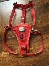 New listing Kurgo Dog Puppy Harness Size Small Red Euc