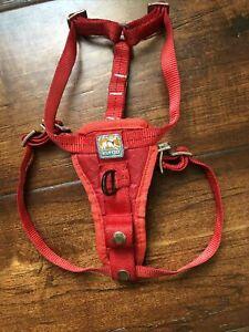 Kurgo Dog Puppy Harness Size Small Red EUC