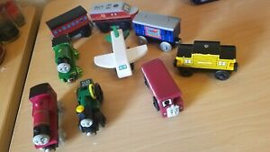 Thomas and Friends Rhineas Bertie Wooden Train Lot + Kidcraft + More Good Shape