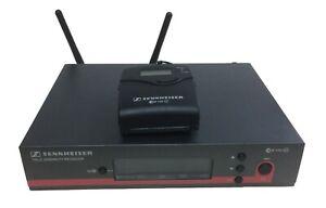 Radiomic Sennheiser EW100 G3 con bodypack, 1 ANNO DI GARANZIA, range 734-776 MHz