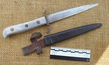 Improvised German WWI fighting knife. Rudka 1916. Personalised. Gott mit Uns.