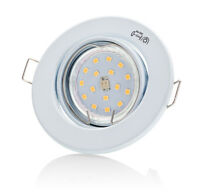 1x-6x Set DECORO 230v 4w LED GU10 TÜV Foco empotrable focos techo Spot Techo