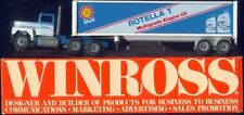 Leffler Shell Rotella Engine Oil '87 Winross Truck