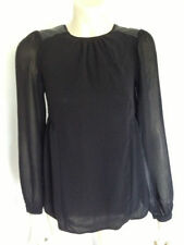 Zara Long Sleeve Machine Washable Solid Tops for Women