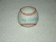Ernie Harwell Hand Signed Baseball Autograph Signature MLB Detroit Tigers