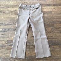 Vintage Levis Sta-Prest Pants 32 X 27 517 USA Bootcut Levi's