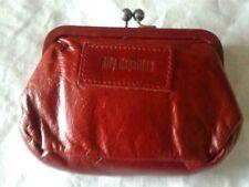 PURSE Ally Capellino Red Leather Clutch Purse