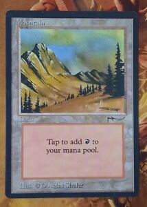 Mtg Arabian Nights Mountain