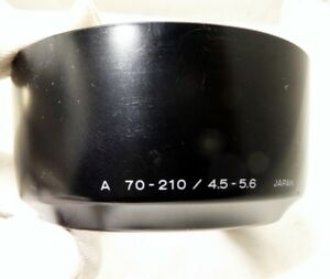Lens Hood Shade for Minolta Maxxum AF A 70-210mm f4.5-5.6 Genuine OEM