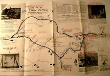 1960'S TWIN CITIES NORTHERN BLACK HILLS SOUTH DAKOTA TRAVEL BROCHURE