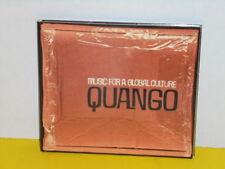 CD - QUANGO - MUSIC FOR A GLOBAL CULTURE - PROMO - TOSCA, JAZZANOWA, AKASHA...