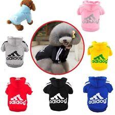 Warm Winter Casual Mini - Large Pet Dog Clothes Warm Hoodie Coat Jacket AU STOCK