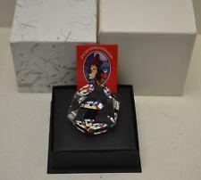 Rare Arribas Swarovski Crystal Captain Hook Paper Weight Decor Limited Ed Nib