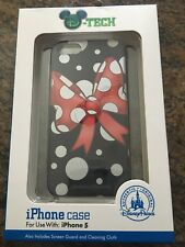 Disney Parks iPhone 5 Case Colorful Minnie Mouse Bow BRAND NEW