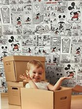 DY3011-3 Comics & More Mickey Mouse Classic Childrens Kids Feature Wallpaper