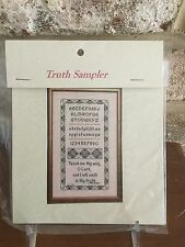 Truth Sampler Teach Me Thy Way O Lord And I Will Walk In Thy Truth X Stitch Kit