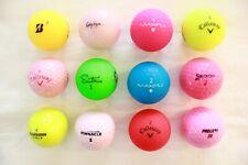 One Dozen Variety Fall Balls, Callaway / Bridgestone / Maxfli and more
