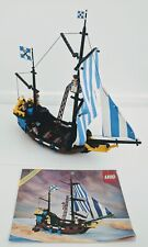 Lego Pirates Caribbean Clipper 6274 100% Complete Rare And Discontinued Set