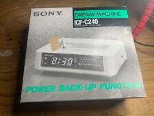 Sony Dream Machine ICF-C240 FM/AM Digital Clock Radio