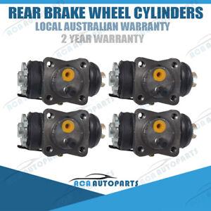 4 Rear Brake Wheel Cylinders LH + RH for Toyota Landcruiser FJ 40 45 55 HJ 45 47
