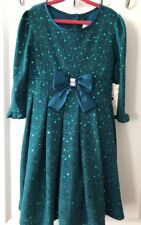 SweetHeart Rose, Girls Size 6X, Knit Sequin Dress, Holiday, Pictures,Dance,Party