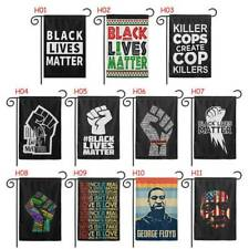 I Can't Breath Black Lives Matter Flags Hanging Banner Garden Flags Hot Home