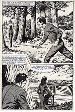 LE RETOUR DE MADAME ATOMOS (TORREGROSA/CAROFF) PLANCHE ORIGINALE AREDIT PAGE 13
