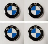 Genuine BMW Alloy Wheel Centre Badge Caps Chrome Edge (SET OF 4) - 36136783536