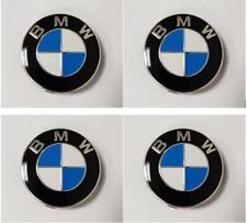 Genuine BMW Alloy Wheel Centre Caps Chrome Edge (SET OF 4) - 36136783536