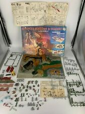 Vtge. Advanced Dungeons & Dragons Dungeon invaders Action Scene Set by MPC 1982