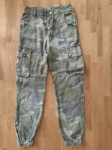 Gorgeous Camouflage Cargo Trousers age 11 New Look
